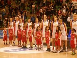 Les Filles du BCCL lors de France lituanie